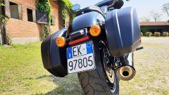 Harley Davidson Sport Glide: il posteriore