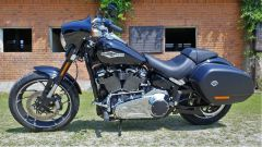 Harley Davidson Sport Glide: vista lato sinistro