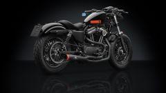 Harley-Davidson Sportster Forty Eight: la versione con Accessory Line Rizoma. 3/4 posteriore