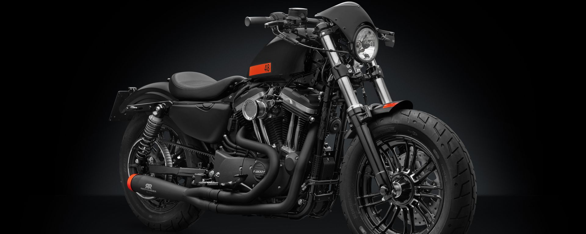 Harley-Davidson Sportster Forty Eight: la versione con Accessory Line Rizoma