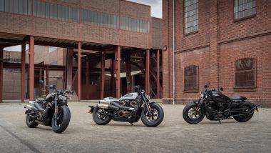 Harley-Davidson Sportster S 2021: le tre colorazioni disponibili