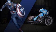 Harley-Davidson Street Glide Capitan America