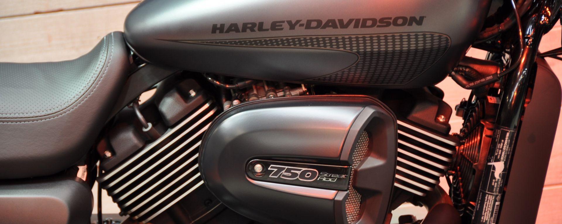 Harley-Davidson Street Rod 2017: ecco la 750 da 8.700 euro