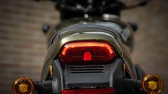 Harley-Davidson Street Rod 750, codino con luce posteriore a Led