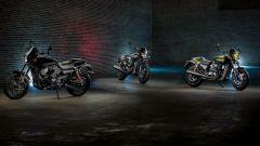 Harley-Davidson Street Rod 750, i tre colori a listino