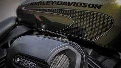 Harley-Davidson Street Rod 750, serbatoio da 13,2 litri