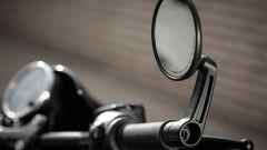 Harley-Davidson Street Rod 750, specchio laterale