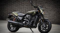Harley Davidson Street Rod 750S, la protagonista dello Snowquake 2018