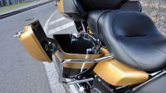 Harley-Davidson Ultra Limited 2017, borsa laterale aperta