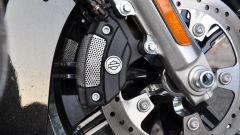 Harley-Davidson Ultra Limited 2017, pinza freno anteriore