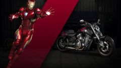 Harley-Davidson V-Rod Iron Man