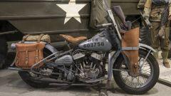 Harley Davidson WLA del 1943 appartenuta alle forze americane