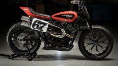 Harley-Davidson XGR750, vista laterale