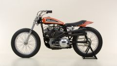 Harley-Davidson XR-750 del 1975: vista laterale sinistra