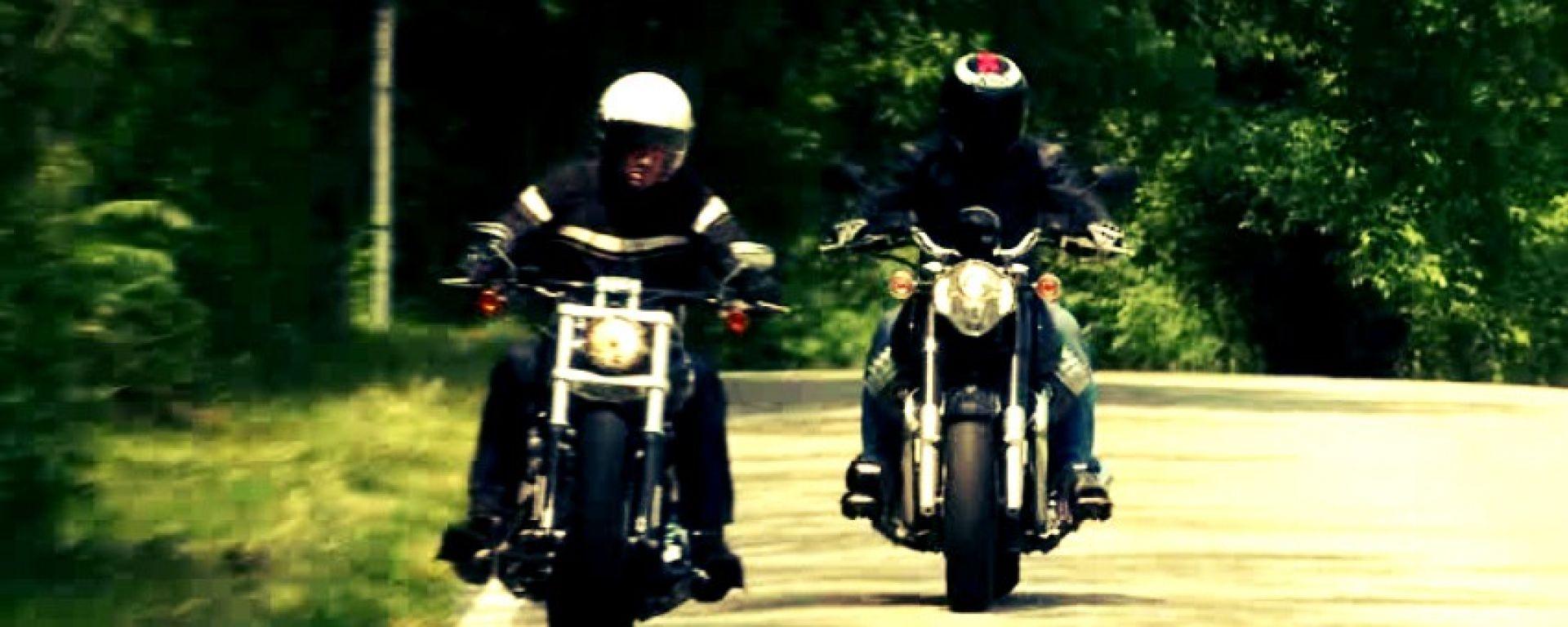 Moto Guzzi California Custom vs HD Softail Breakout