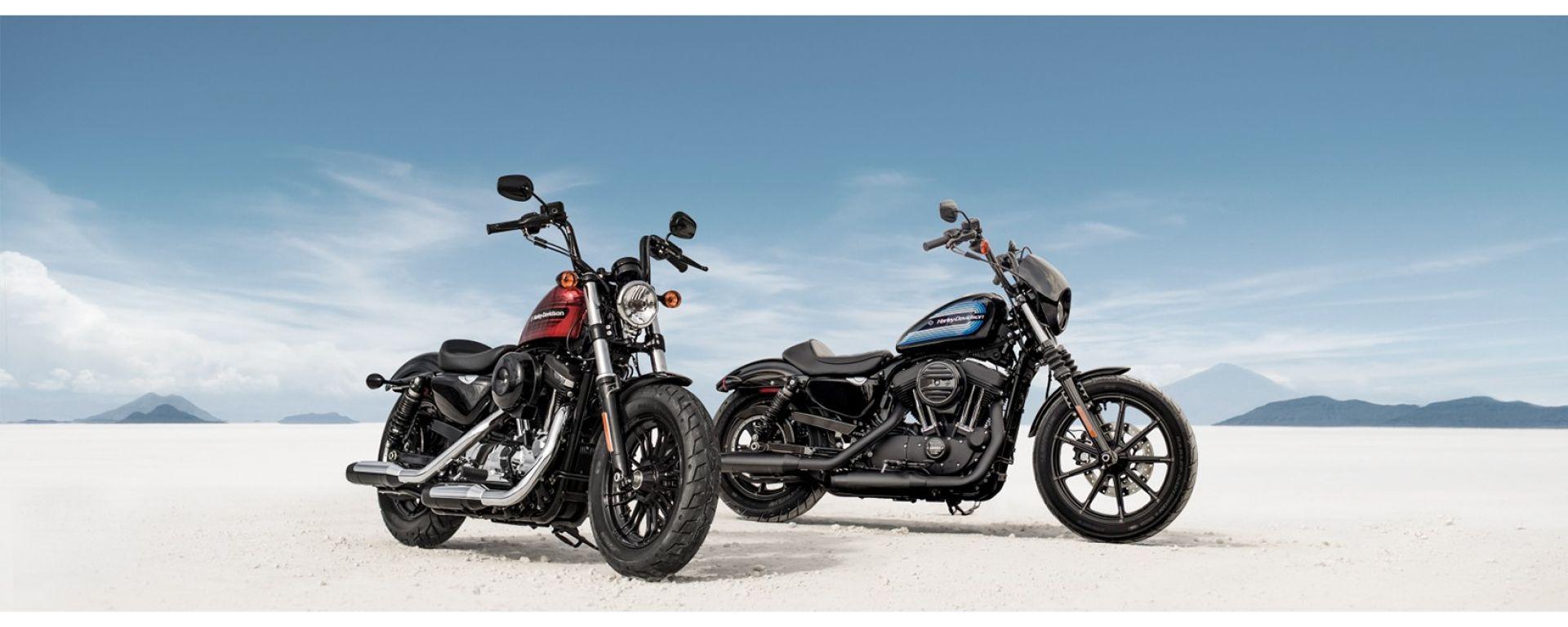 HarleyDavidson: la famiglia Sportster si allarga con la Iron 1200 e la Forty-Eight Special