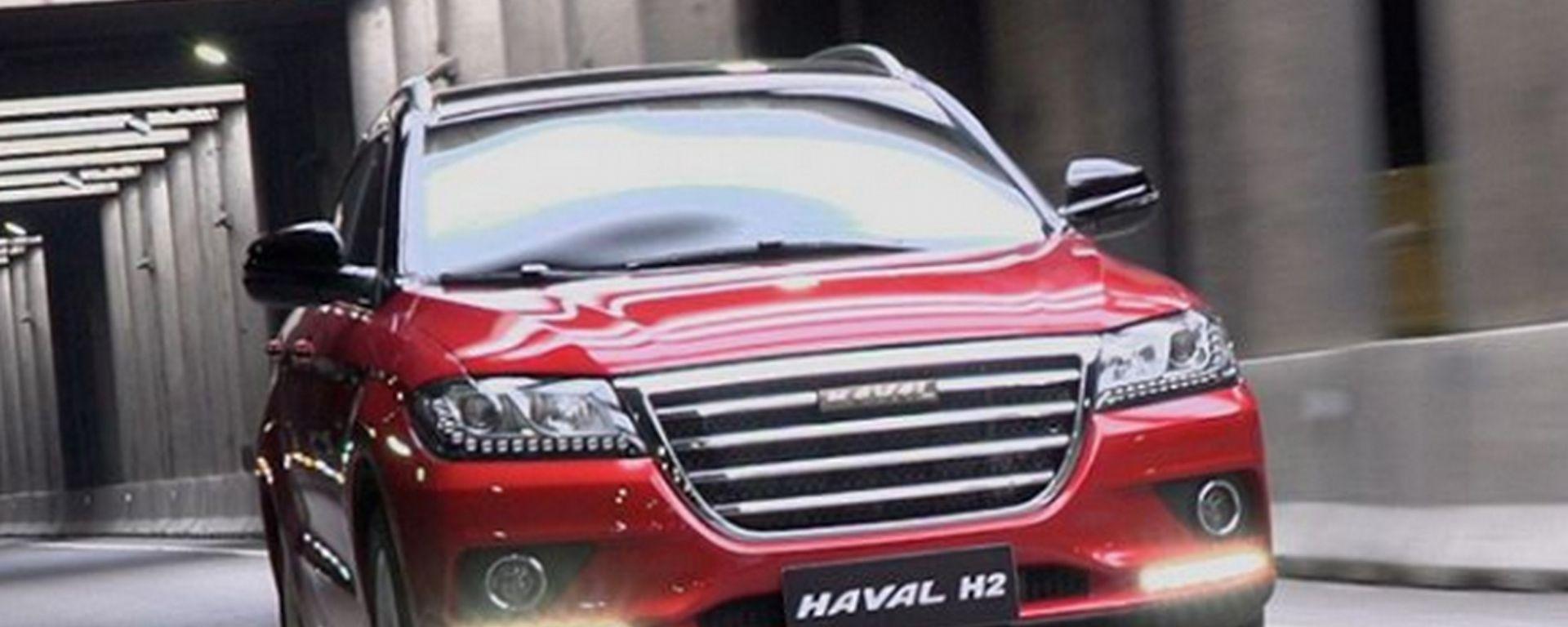 Haval H2 2019: debutta il SUV compatto anche a GPL