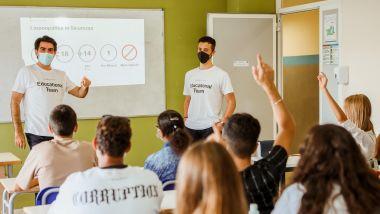 Helbiz LAB 2040, il programma di educazione civica stradale nelle scuole