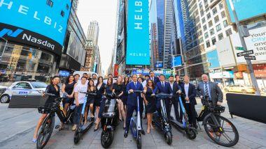Helbiz, società di micromobilità, si è quotata in borsa
