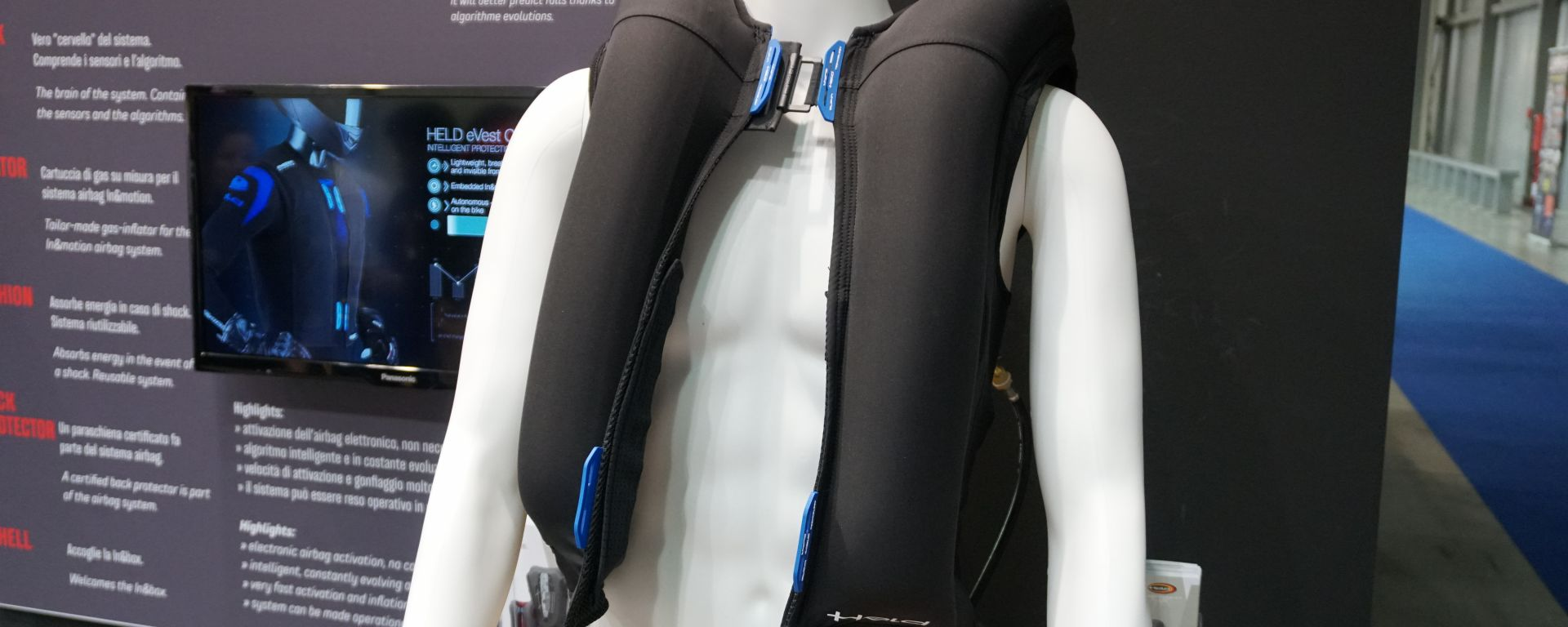 Held: a Eicma 2019 il Gilet eVest Clip-in con airbag