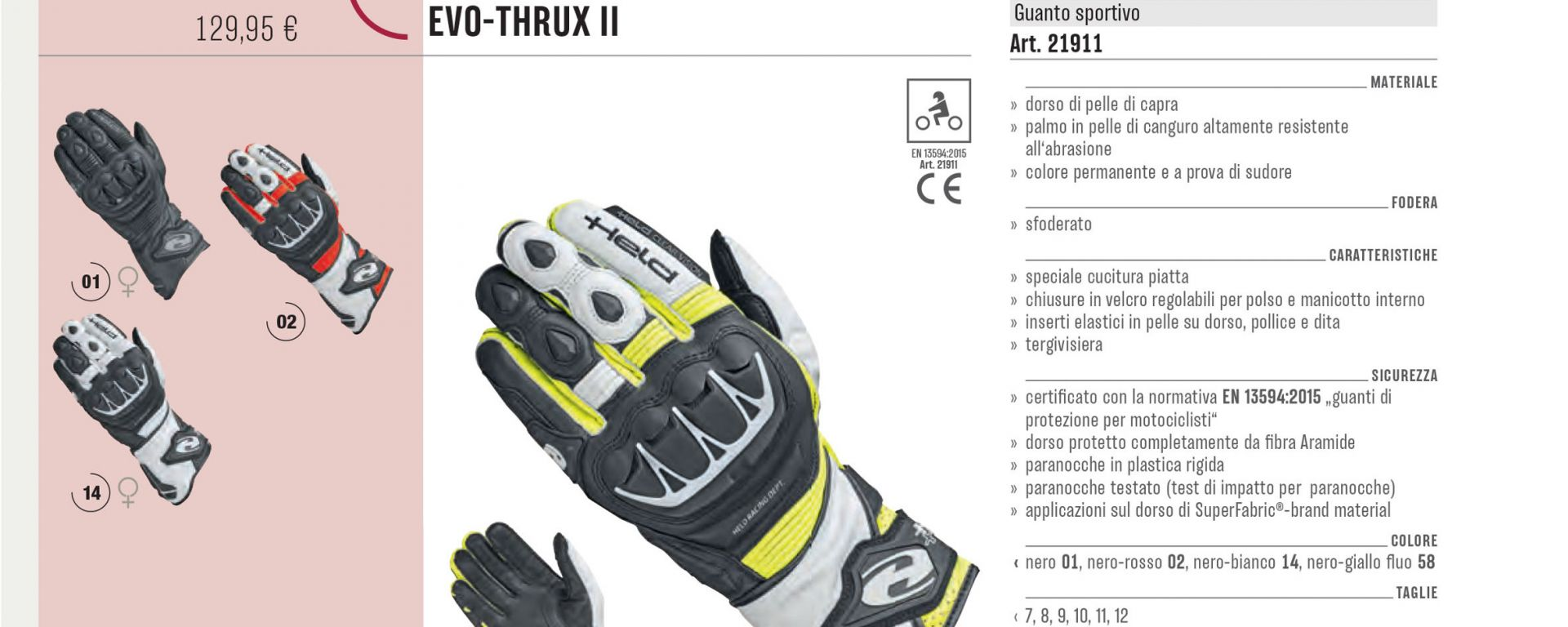 Held Evo Thrux II