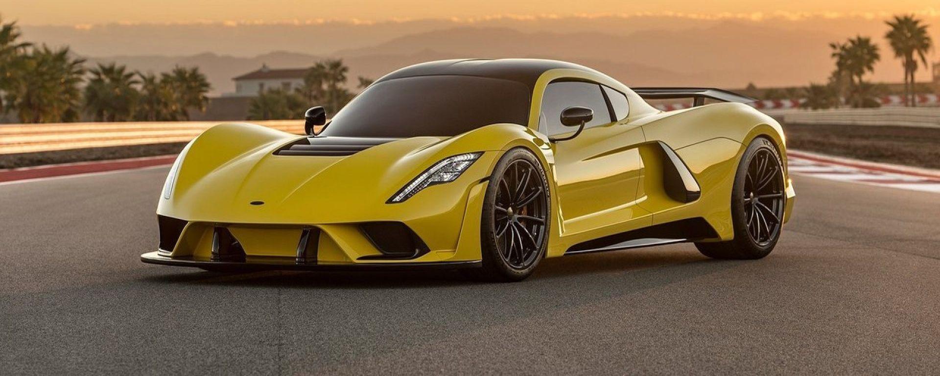 Hennessey Venom F5: 1.600 cavalli per 480 km/h