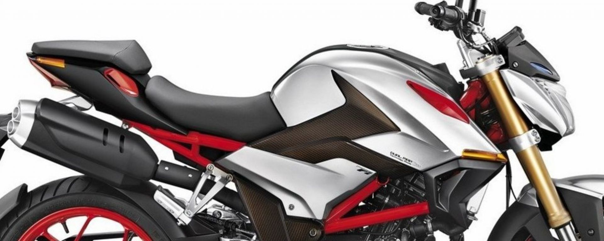 Hero XF3R, la streetfighter venuta dall'India