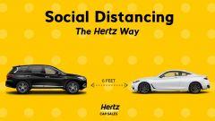 Hertz e la campagna social COVID-19
