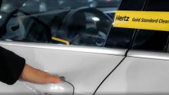 Hertz Gold Standard Clean, auto sanificate e disinfettate