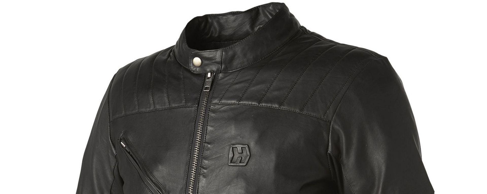 Hevik: giacca in pelle Garage