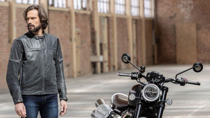 Hevik Mustang 2020, giacca in pelle