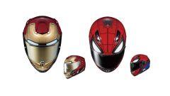 HJC e Marvel: arrivano i nuovi caschi ispirati ai Spider-Man e IronMan - Immagine: 1