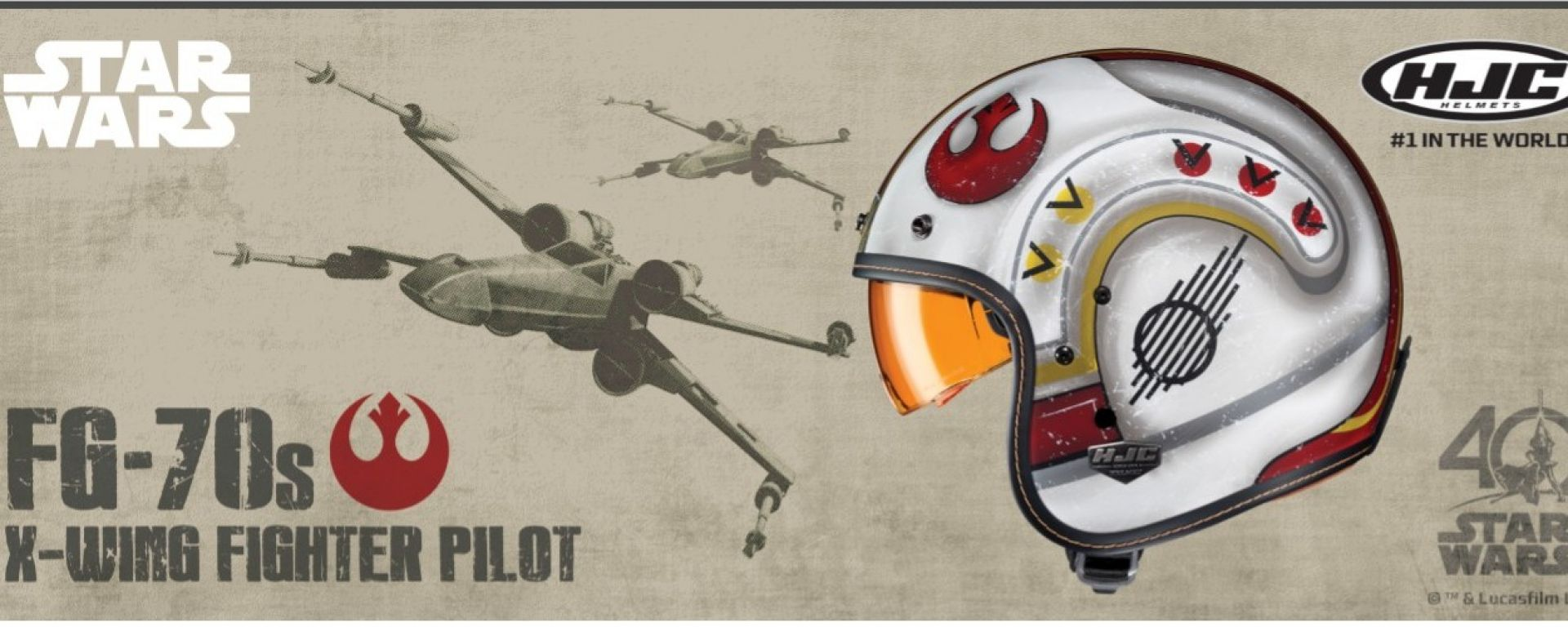 HJC FG-70's X-Wing Fighter Pilot