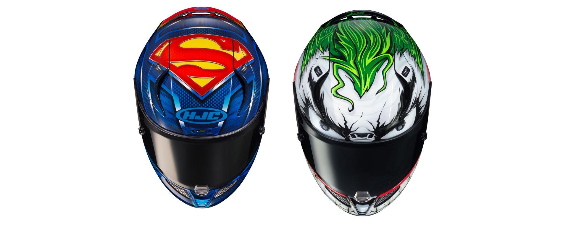HJC RPHA 11 con grafiche Marvel: Superman e Joker