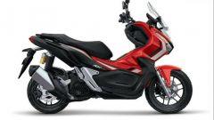 Honda ADV 150 2019: colorazione rossa
