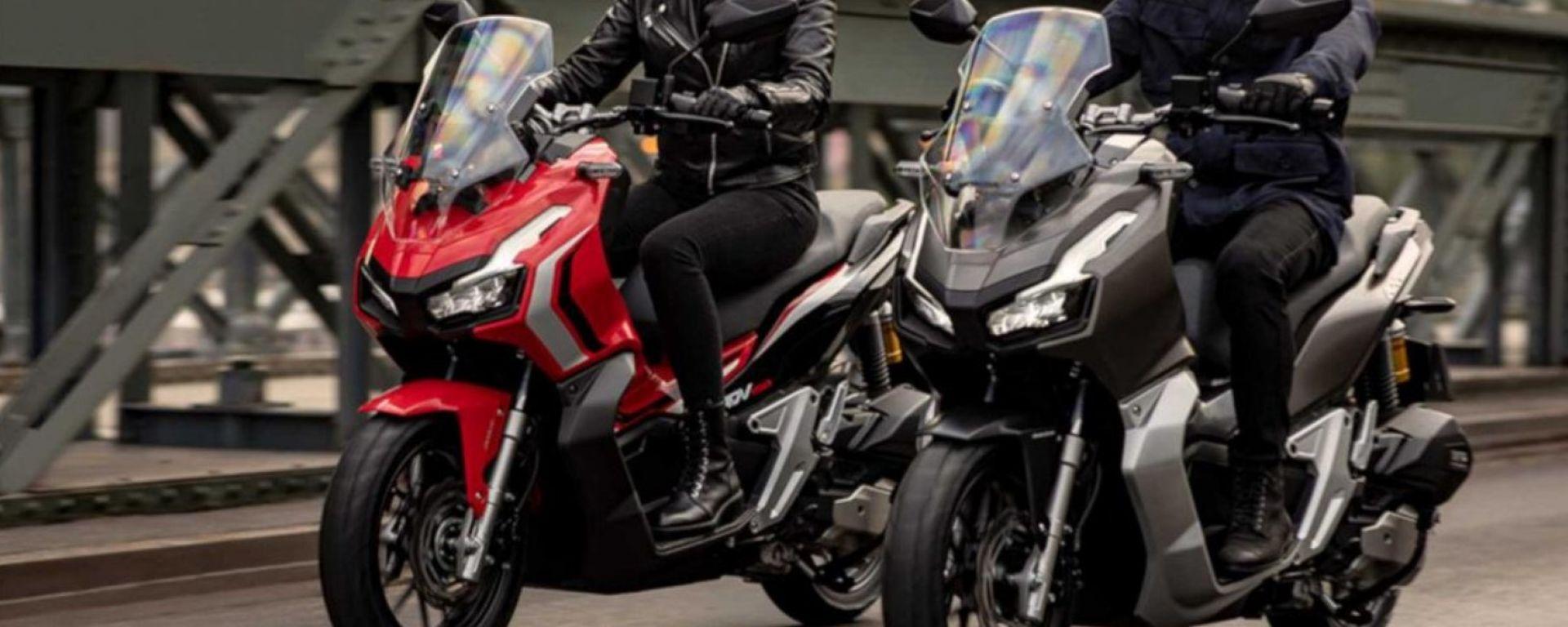 Honda ADV 150: il baby X-ADV forse anche in Italia