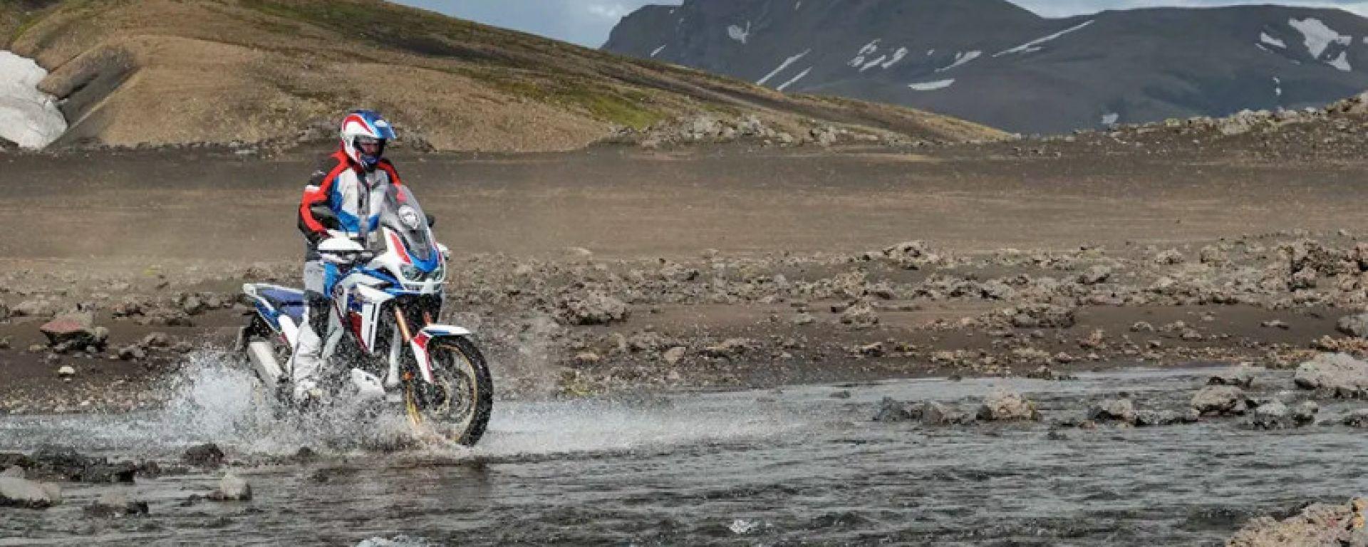 Honda Adventure Roads 2021: a bordo delle Africa Twin in Islanda