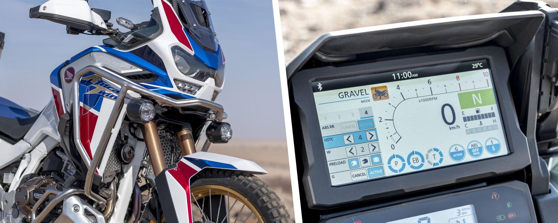 Honda Africa Twin 1100: il tutorial per imparare ad usare la strumentazione
