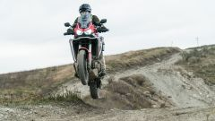 Honda Africa Twin 1100, in off-road