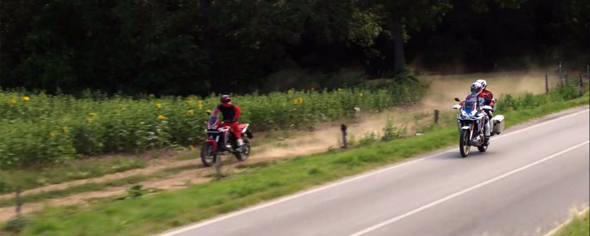 Le due anime della Honda Africa Twin 1100 in un video