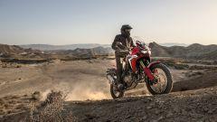Honda Africa Twin 2015 : la provano Marquez e Barreda - Immagine: 5