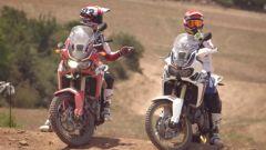 Honda Africa Twin 2015 : la provano Marquez e Barreda - Immagine: 7