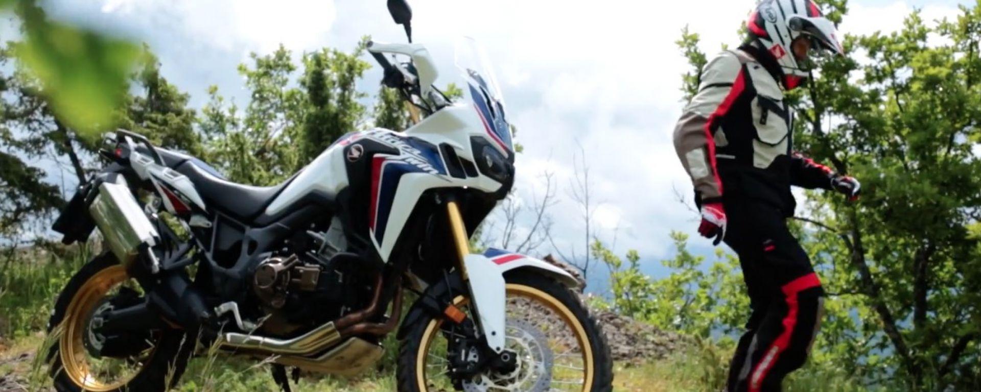 Honda CRF1000L Africa Twin: un video celebra il cambio DCT