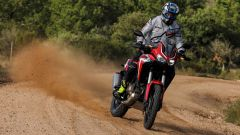 Honda Africa Twin 2020: la versione standard in off-road
