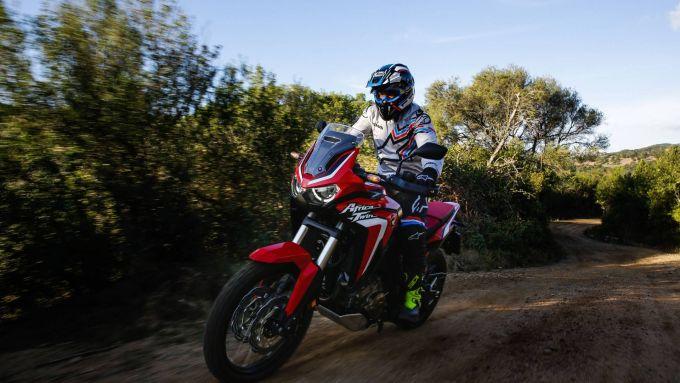 Honda Africa Twin 2020: più potenza ed elettronica aggiornata