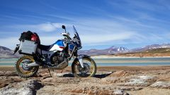 Honda Africa Twin Adventure Sports: pronta per lunghi viaggi [VIDEO] - Immagine: 5