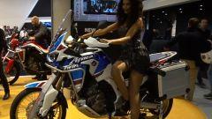 Honda Africa Twin Adventure Sports: pronta per lunghi viaggi [VIDEO] - Immagine: 3