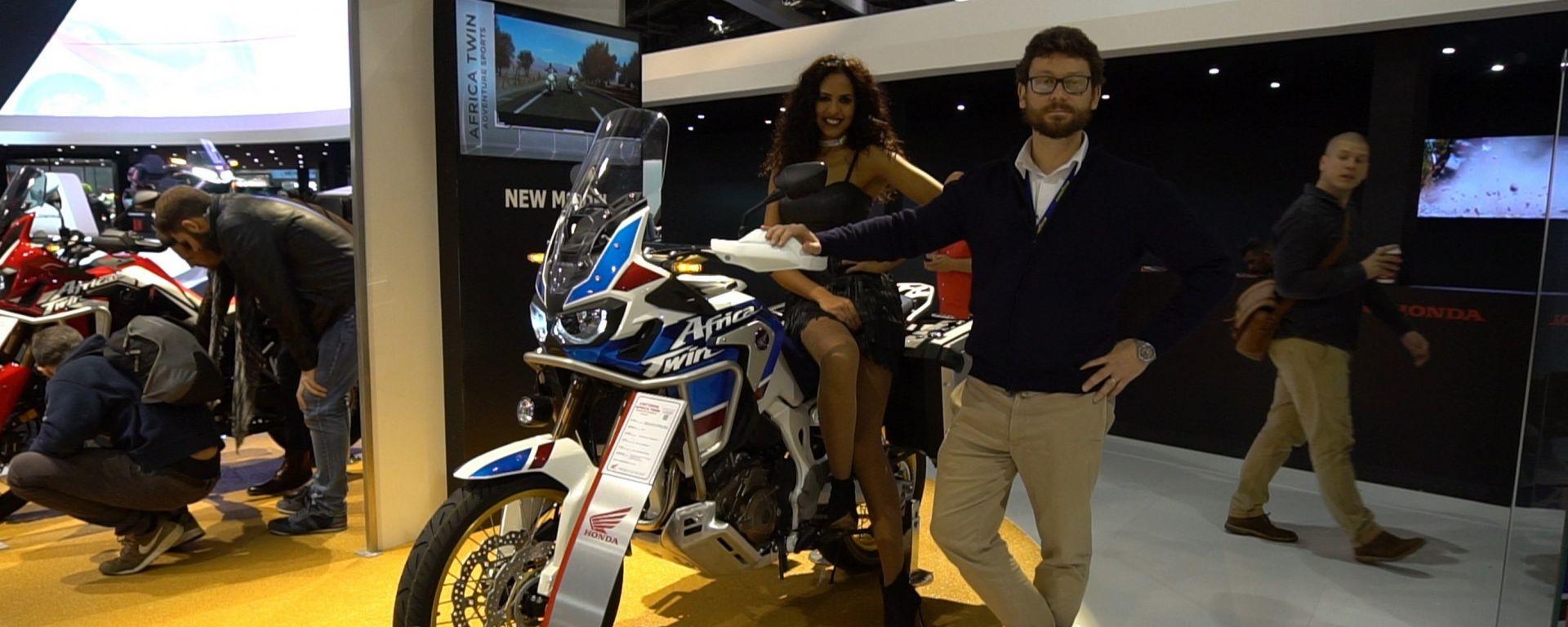 Honda Africa Twin Adventure Sports: pronta per lunghi viaggi [VIDEO]