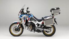 Honda Africa Twin Adventure Sports 2020: lato sinistro