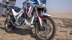 Honda Africa Twin Adventure Sports 2020: l'avantreno